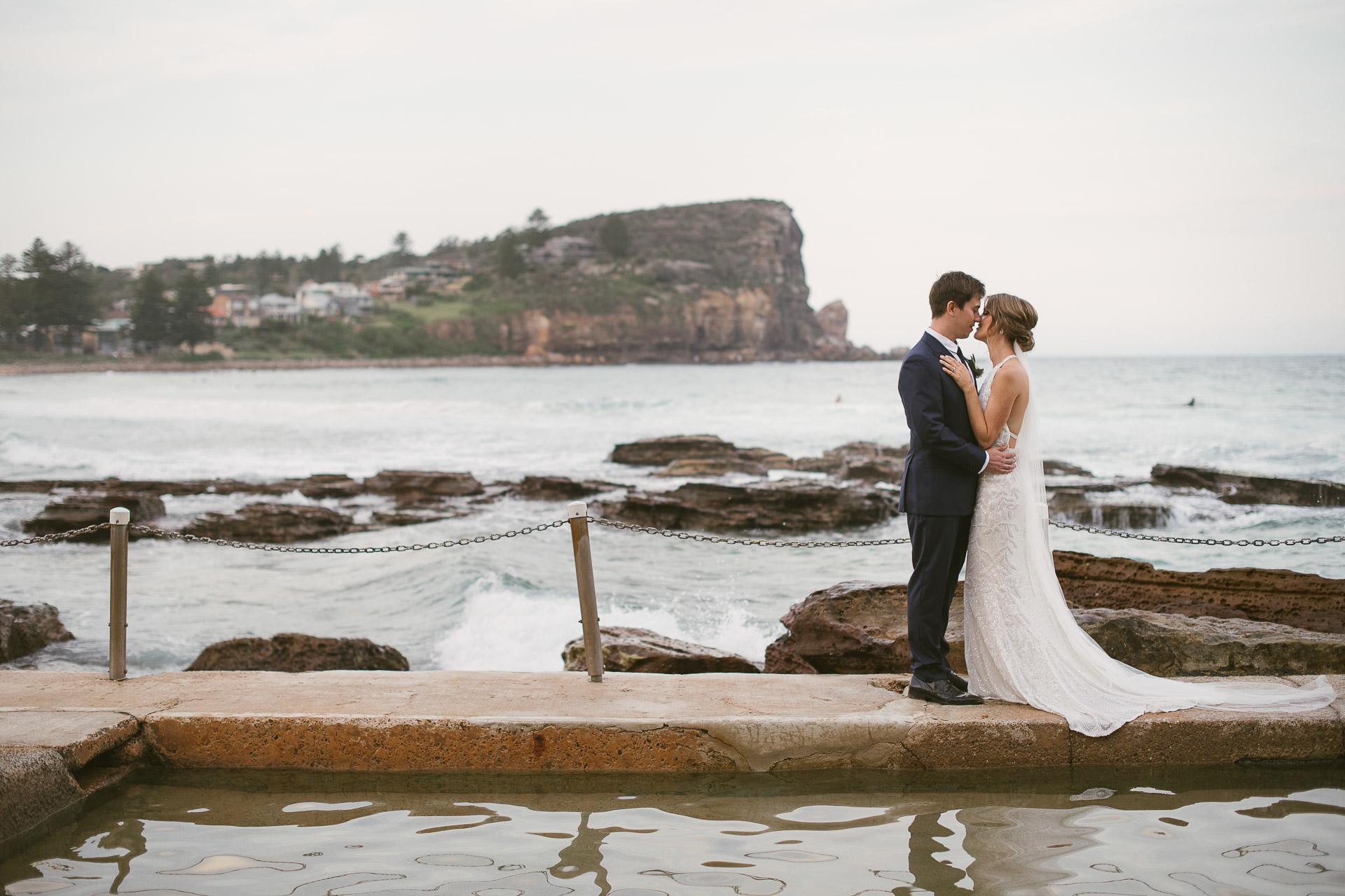 Avalon Beach Wedding